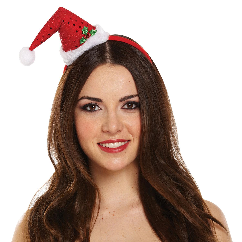Mini Santa Headband Hat