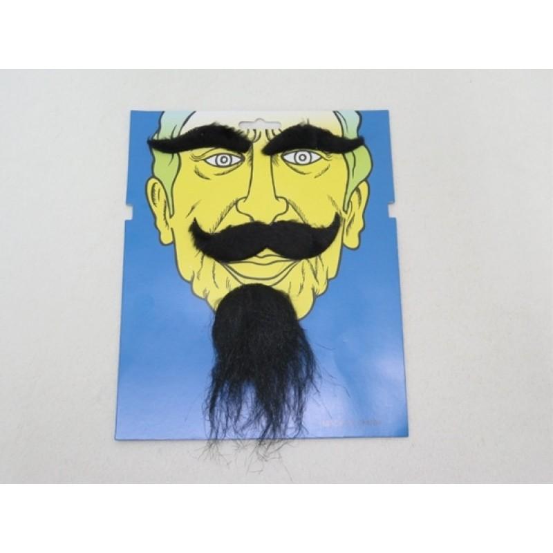 Mustache Beard and Eyebrow Set