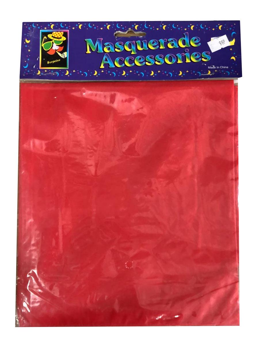 Plastic Red Cape