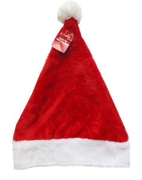 Plush Santa Hat 40cm