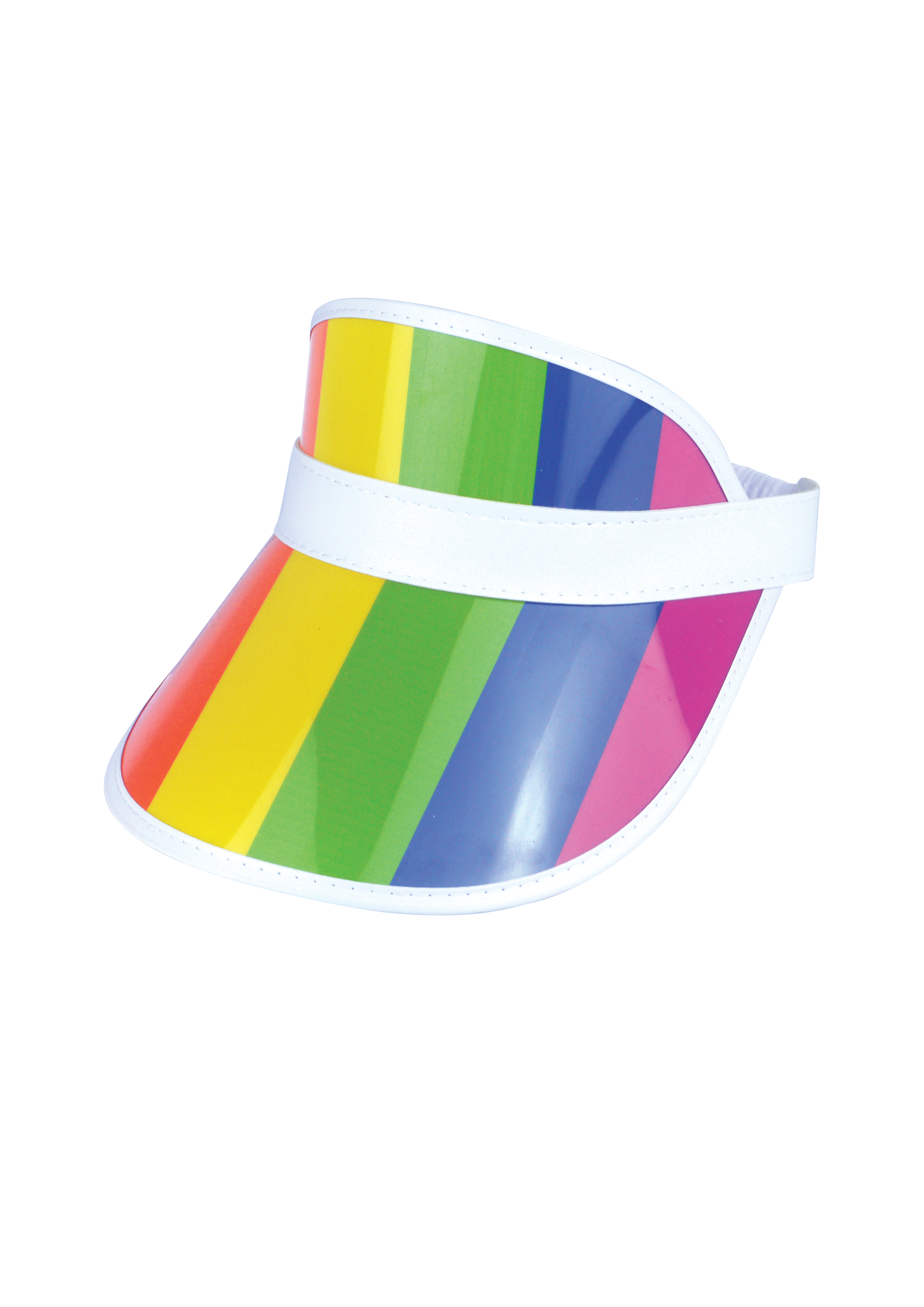 Pride Poker Visor Hat