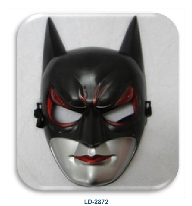 Red Black Mask