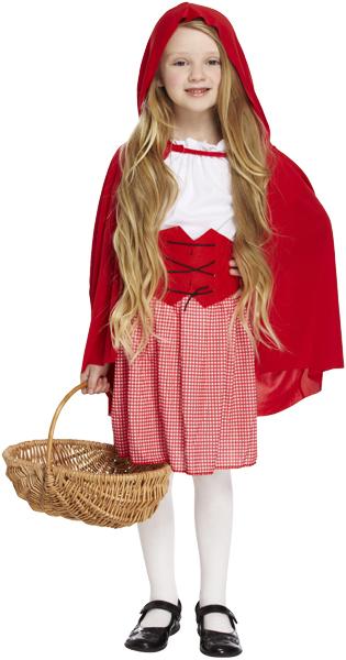 Red Hood Girl Costume