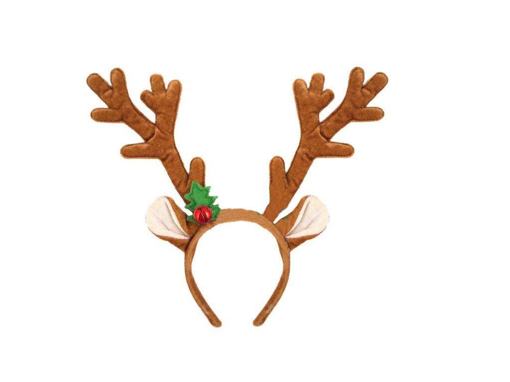 Reindeer Antlers with bell Headband