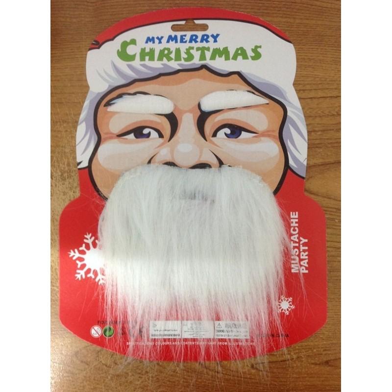 Santa Eye Brows Bread and Mustache Set