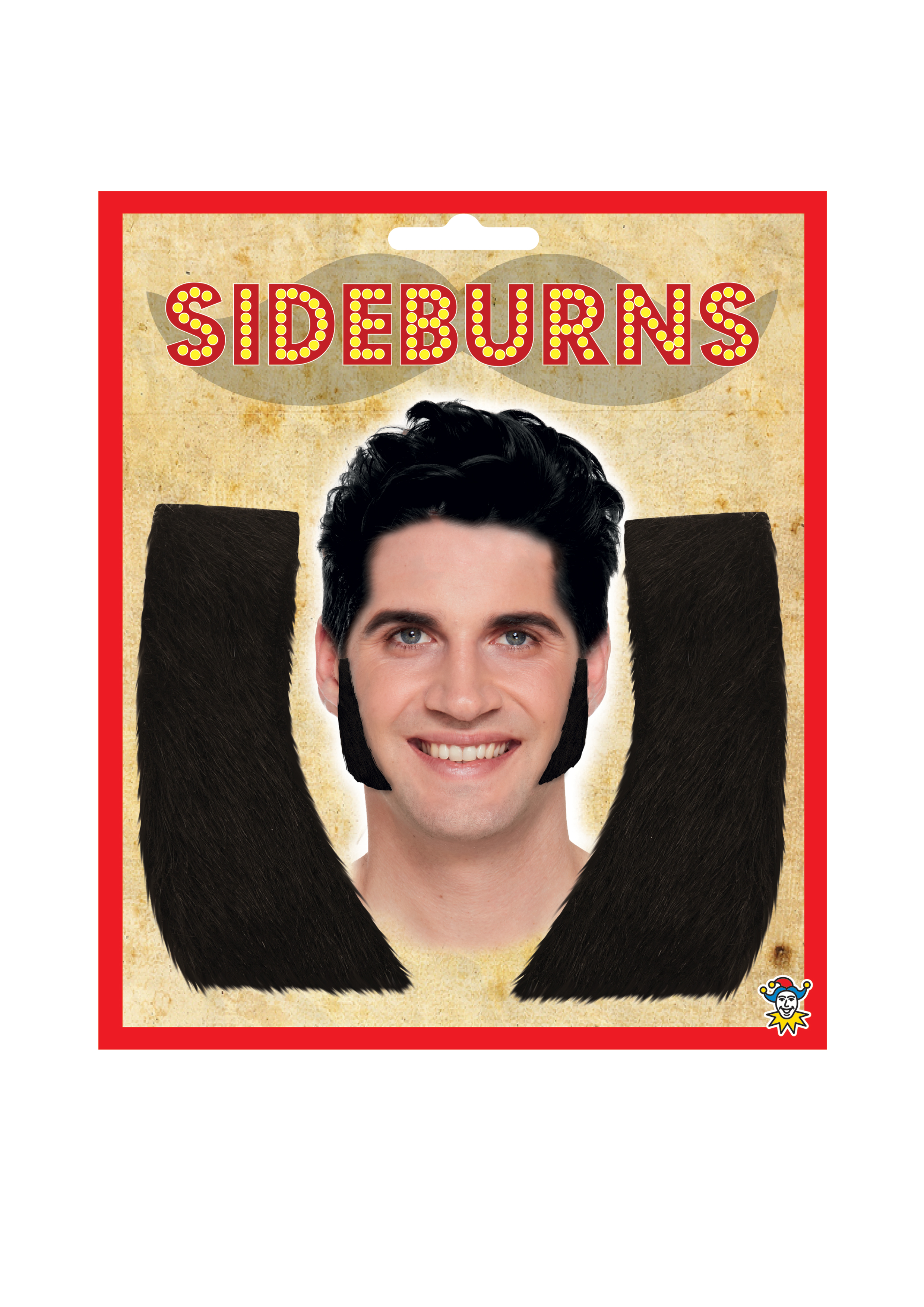 Sideburns (10.5cm) (Pack of 12)
