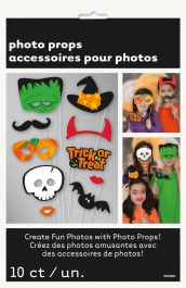 10 Trick/Treat Halloween Photo Prop