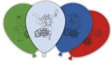 11 Inches Avengers Hero Printed Balloons (Pack of 8)