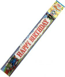 12 Feet Happy Birthday Party Banner Thomas