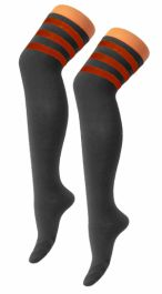 Referee Black and Red OTK Socks (12 Pairs)