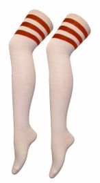 Referee White and Red OTK Socks(12 Pairs)