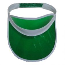 Green Poker Visor Hat (12 Pcs)