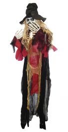 128cm Hanging Skull Ghost