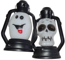 12pce BO Halloween Lantern 10cm CDU