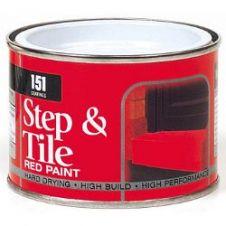 151 Coatings Step & Tile Paint - 180ml Red