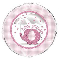 18 Inches UmbrellaPhants Pink Foil Balloon