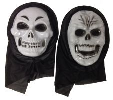 2 Assorted Skull Mask