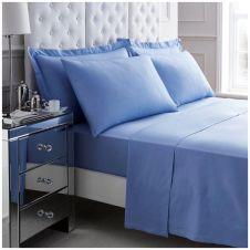 200 TC EGYPTIAN COTTON DUVET SET BLUE