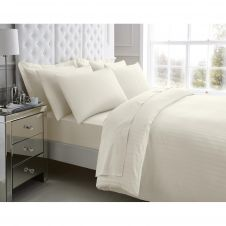 200 TC EGYPTIAN COTTON DUVET SET CREAM (5 PCS)