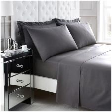 200 TC EGYPTIAN COTTON DUVET SET GREY