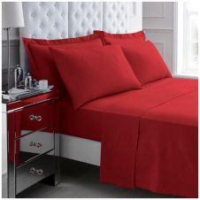 200 TC EGYPTIAN COTTON DUVET SET RED