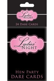 Hen Party Dare Cards (Pack of 24)