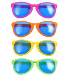 28 cm Giant Glasses Assorted Colours