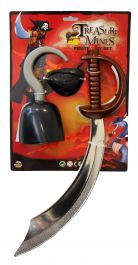 3 Pcs Pirate Set (Sword 48CM)