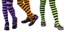 Children Striped Tights 3 Assorted