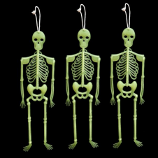 3 Pieces GID Skeleton 30cm Pack of 3