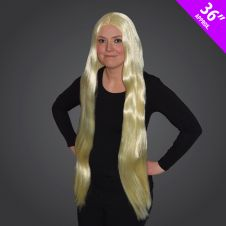36Inch Long Blonde Wig