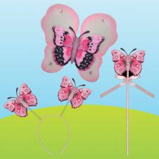 3D Butterfly Dress UP Set