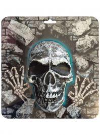 3D Skull Plaque