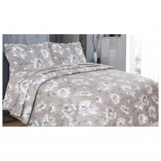 3PC PRINTED BED SPREAD AMIME NATURAL