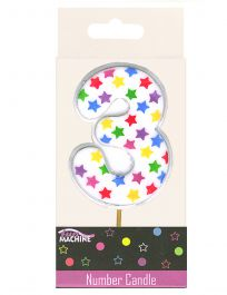 3rd Birthday Star Candle
