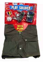 4 Pcs Lets Play Soldier Kit