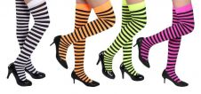 4 Assorted Striped Stocking
