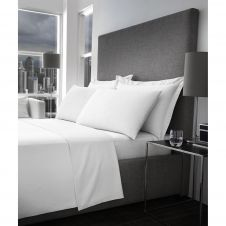 400 TC DUVET SET WHITE (7 PCS)