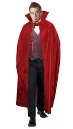 Red Halloween Carded Cape Costume (56 Inches)