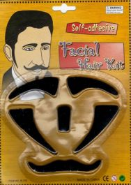 6 Pcs Facial Hair Kit
