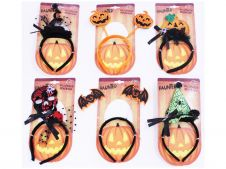 6 Assorted Halloween Headband