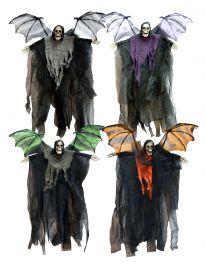 60cm Hanging Bat Reaper (4 Asstd)