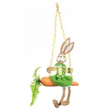 Swinging Rabbit on Carrot(70cm)