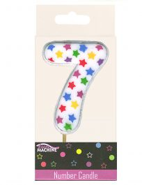 7th Birthday Star Candle