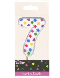 7th Birthday Star Candle