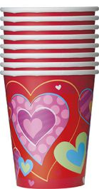 8 I Heart Valentine 9Oz Cup