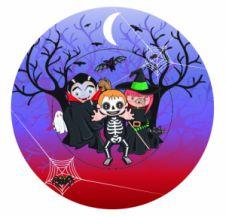 8 Pcs Halloween Paper Bowls