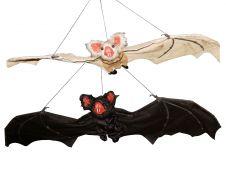 90cm Flock Bat (2 Asstd)