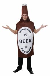Adult Beer Bottle Costume