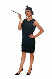Adult Flapper Lady W/tassles Costume